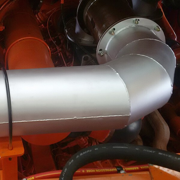 Aletek direct-fit exhausts and pipes for Hitachi